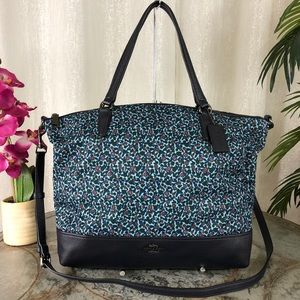 COACH SATCHEL IN RANCH FLORAL PRINT F59433